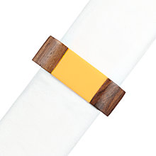 Buy John Lewis Cabo Resin Napkin Ring Online at johnlewis.com