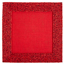 Buy John Lewis Cabo Beaded Placemat Online at johnlewis.com