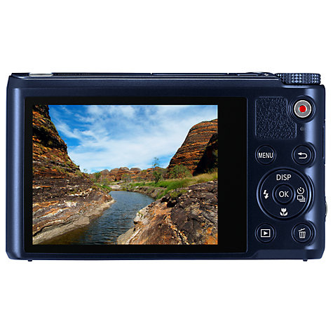"Buy Samsung WB250F Digital Camera, HD 1080p, 18x Optical Zoom, 14.2MP, Wi-Fi with 3"" Touch Screen Online at johnlewis.com"