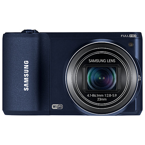"Buy Samsung WB800F Camera, HD 1080p, 21x Optical Zoom, 16.3MP, Wi-Fi with 3"" Touch Screen Online at johnlewis.com"
