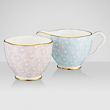 Buy Wedgwood Cuckoo Sugar Bowl and Creamer Online at johnlewis.com