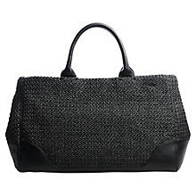 Buy Jigsaw Winslow Tote, Black Online at johnlewis.com