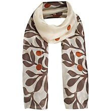 Buy Jigsaw Painted Vine Scarf Online at johnlewis.com