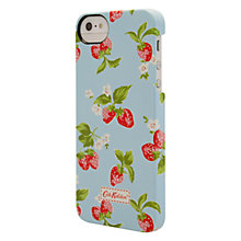 Buy Cath Kidston Classic Strawberry Case for iPhone 5, Blue Online at johnlewis.com