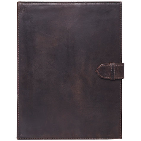 Buy John Lewis Leather Book Case for 2nd, 3rd & 4th Generation iPad Online at johnlewis.com