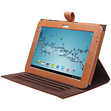 "Buy John Lewis Leather Folio for Samsung Galaxy Note 10.1"", Tan Online at johnlewis.com"