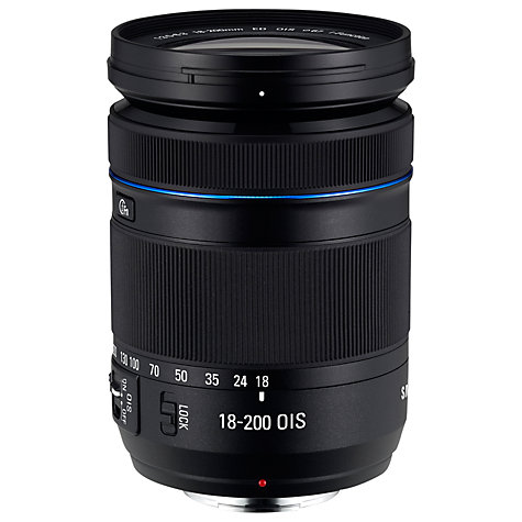 Buy Samsung NX 18-200mm f/3.5-6.3 ED OIS Telephoto Lens Online at johnlewis.com