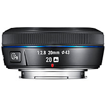 Buy Samsung NX 20mm f/2.8 Wide Angle Lens Online at johnlewis.com