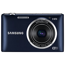 "Buy Samsung ST150F Camera, HD 720p, 16.2MP, 5x Optical Zoom, Wi-Fi with 3"" LCD Screen Online at johnlewis.com"