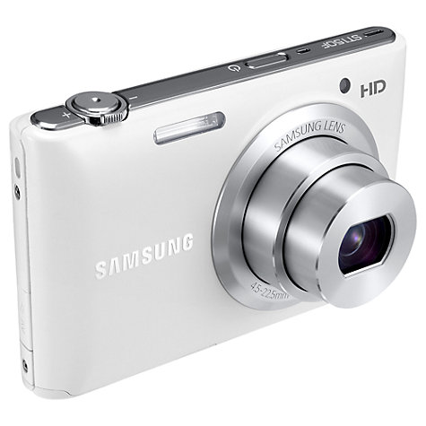 Buy Samsung ST150F Camera, HD 720p, 16.2MP, 5x Optical Zoom, Wi-Fi with 3 LCD Screen Online at johnlewis.com