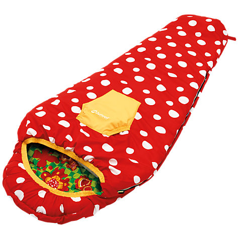 Buy Outwell Butterfly Girl Sleeping Bag, Red/Green/Yellow Online at johnlewis.com