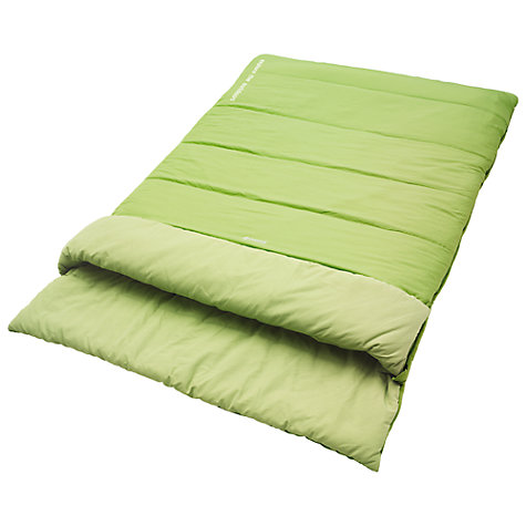 Buy Outwell Cedar Double Sleeping Bag, Green Online at johnlewis.com