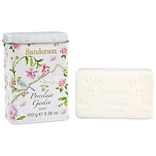 Buy Heathcote & Ivory Sanderson Porcelain Garden Soap, 100g Online at johnlewis.com