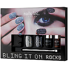 Buy Nails Inc. Bling It On Rocks Collection Online at johnlewis.com
