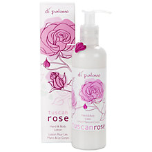 Buy Di Palomo Tuscan Rose Hand & Body Lotion, 250ml Online at johnlewis.com