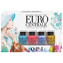 Buy OPI Euro Centrale Mini Collection, 4 x 3.75ml Online at johnlewis.com