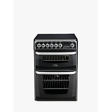 Buy Hotpoint Cannon CH60EKKS Electric Cooker, Black Online at johnlewis.com