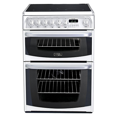 Buy Hotpoint Cannon CH60EKWS Electric Cooker, White Online at johnlewis.com