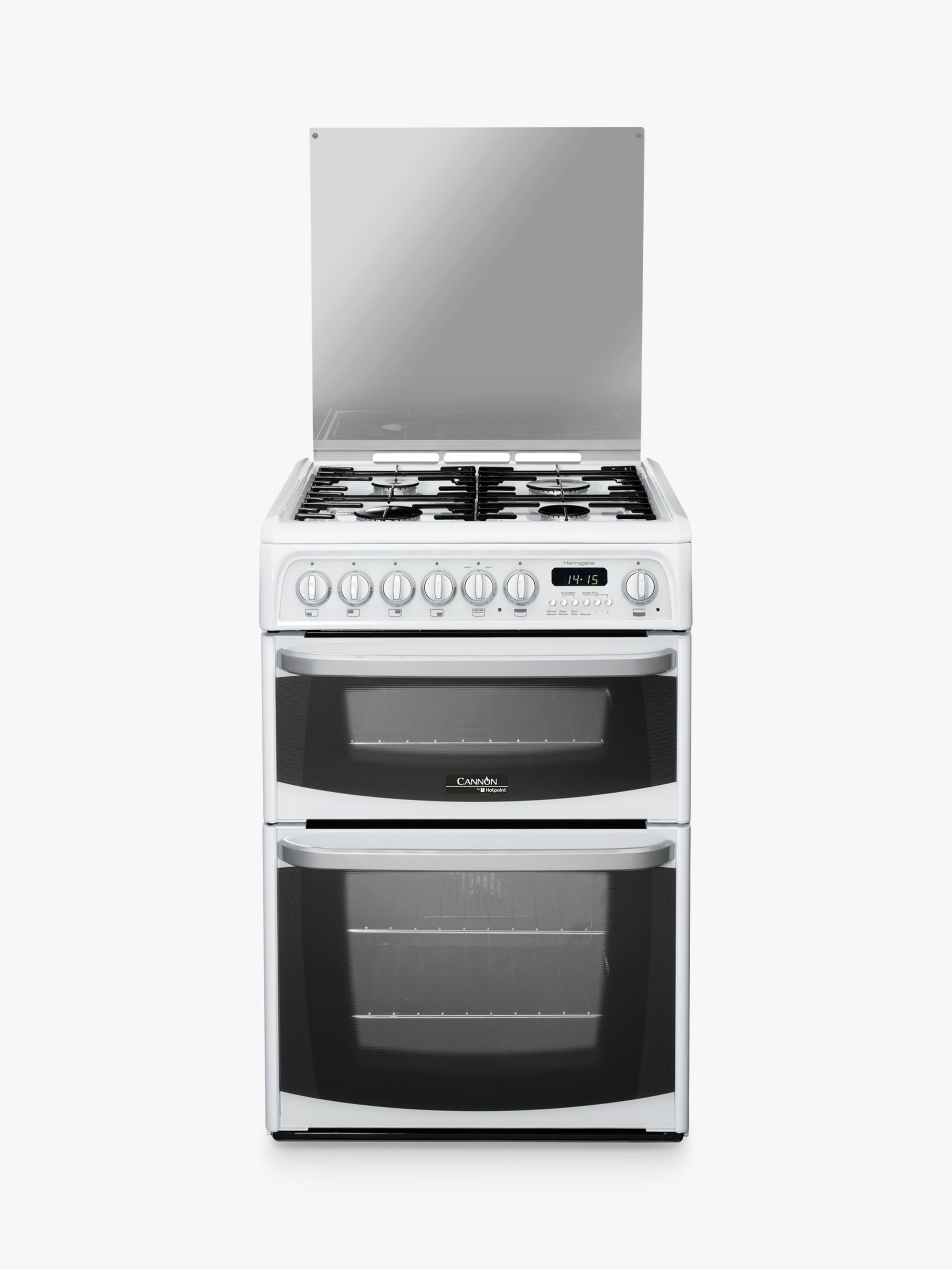 Hotpoint Cannon CH60DHWFS Dual Fuel Cooker White