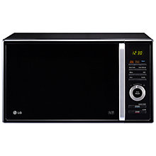 Buy LG MC8289BR Combination Microwave, Black/Silver Online at johnlewis.com
