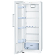 Buy Bosch KSV29NW30G Tall Larder Fridge, A++ Energy Rating, 60cm Wide, White Online at johnlewis.com