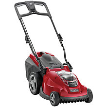 Buy Mountfield Princess 38 Li Electric 4 Wheel Rear Roller Lawnmower Online at johnlewis.com