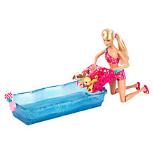 Buy Barbie Swim and Race Pups Online at johnlewis.com