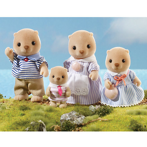 Buy Sylvanian Families Sea Otter Family Online at johnlewis.com