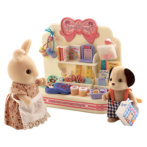 Buy Sylvanian Families Village Gift Boutique Online at johnlewis.com