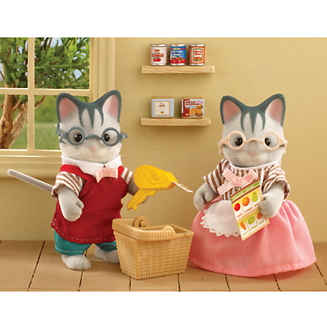 Buy Sylvanian Families Village Store Owners Online at johnlewis.com