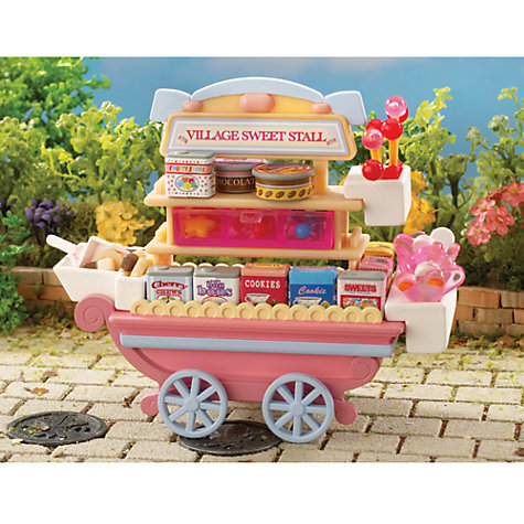 Buy Sylvanian Families Village Sweet Stall Online at johnlewis.com