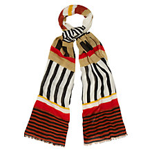 Buy Hobbs Tribal Scarf, Buter Multi Online at johnlewis.com