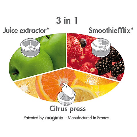 Buy Magimix Le Duo Plus XL Juice Extractor Online at johnlewis.com