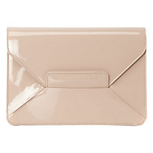 Buy Hobbs Invitation Gracie Bag, Light Nude Online at johnlewis.com