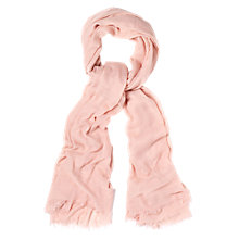 Buy Hobbs Catherine Scarf, Powder Online at johnlewis.com