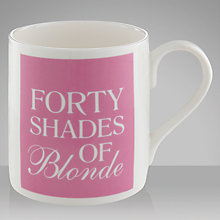Buy Mclaggan Smith Forty Shades of Blonde Mug Online at johnlewis.com