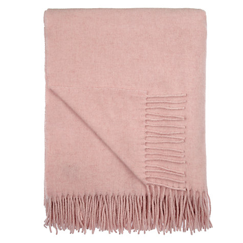 Buy John Lewis Lambswool Throw Online at johnlewis.com