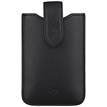 Buy Mulberry Leather Cover with Tab for iPhone 4 & 4S Online at johnlewis.com
