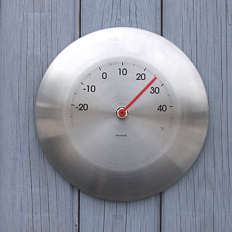 Buy ashortwalk Stainless Steel Thermometer Online at johnlewis.com