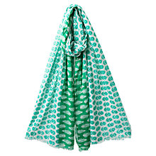 Buy East Leaf Scarf, Deep Sardinia Online at johnlewis.com