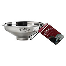 Buy Kilner Stainless Steel Easy-Fill Funnel Online at johnlewis.com