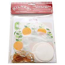 Buy Kilner Fruit Jar Seals, Pack of 108 Online at johnlewis.com