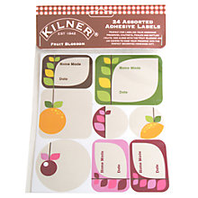 Buy Kilner 24 Fruit Jam Labels Online at johnlewis.com