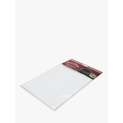 Buy Kilner Jam Making Muslin Square, L50 x W50cm Online at johnlewis.com
