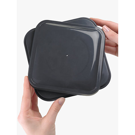 "Buy OXO Good Grips Square ""POP"" Storage Container, Steel, 3.8L Online at johnlewis.com"
