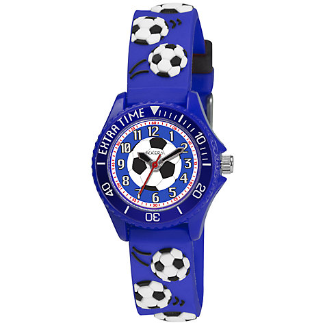 Buy Tikkers Children's Football Detail Watch Online at johnlewis.com