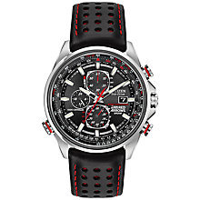 Buy Citizen AT8060-09E Men's Red Arrows Atomic Time World Chronograph Watch, Brown / Black Online at johnlewis.com