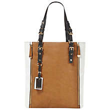 Buy Dune Dopperzip Zip Detail Shopper Bag Online at johnlewis.com