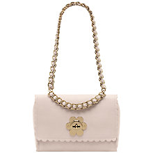 Buy Mulberry Cecily with Flower Leather Woven Strap Handbag Online at johnlewis.com