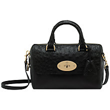 Buy Mulberry Small Del Rey Calf and Ostrich Mix Handbag Online at johnlewis.com